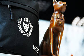 Мужская сумка черех плечо Мессенджер Miracle - Brand48 black, фото 2