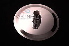 Лейка потолочная круглая нержавейка Ultra Slim силикон 250мм (тропический душ) С-07Y(25), фото 3