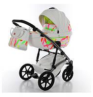 Универсальная детская коляска Tako Neon Chrome 2 в 1