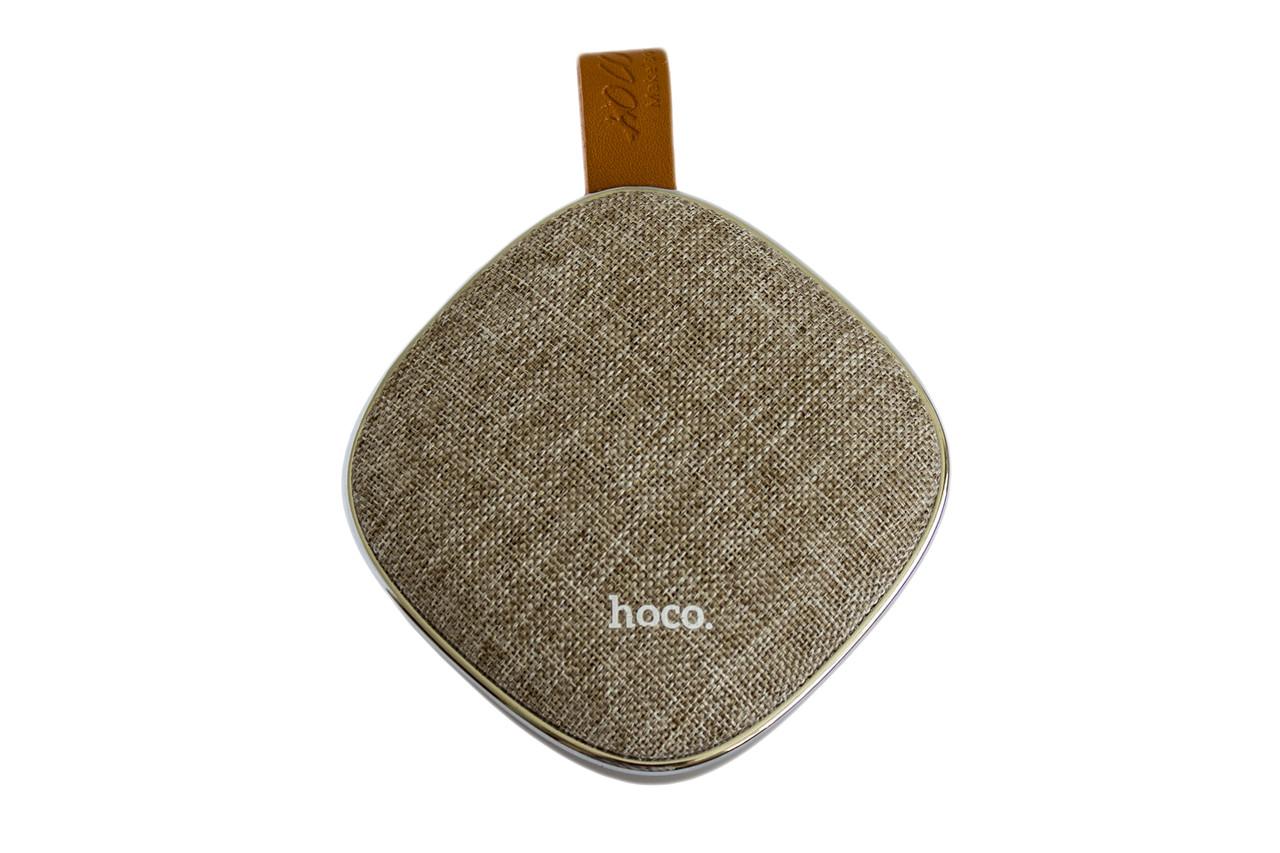Портативная Bluetooth колонка Hoco BS9 Light Textile Desktop Wireless Speaker