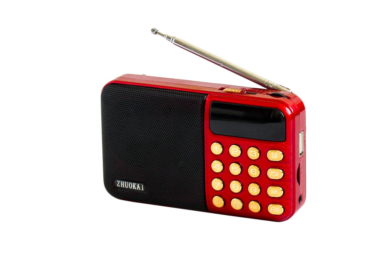 Портативный радиоприемник ZK-651