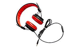 Проводные накладные наушники Sonic Sound E111/MIC Stereo Headphone