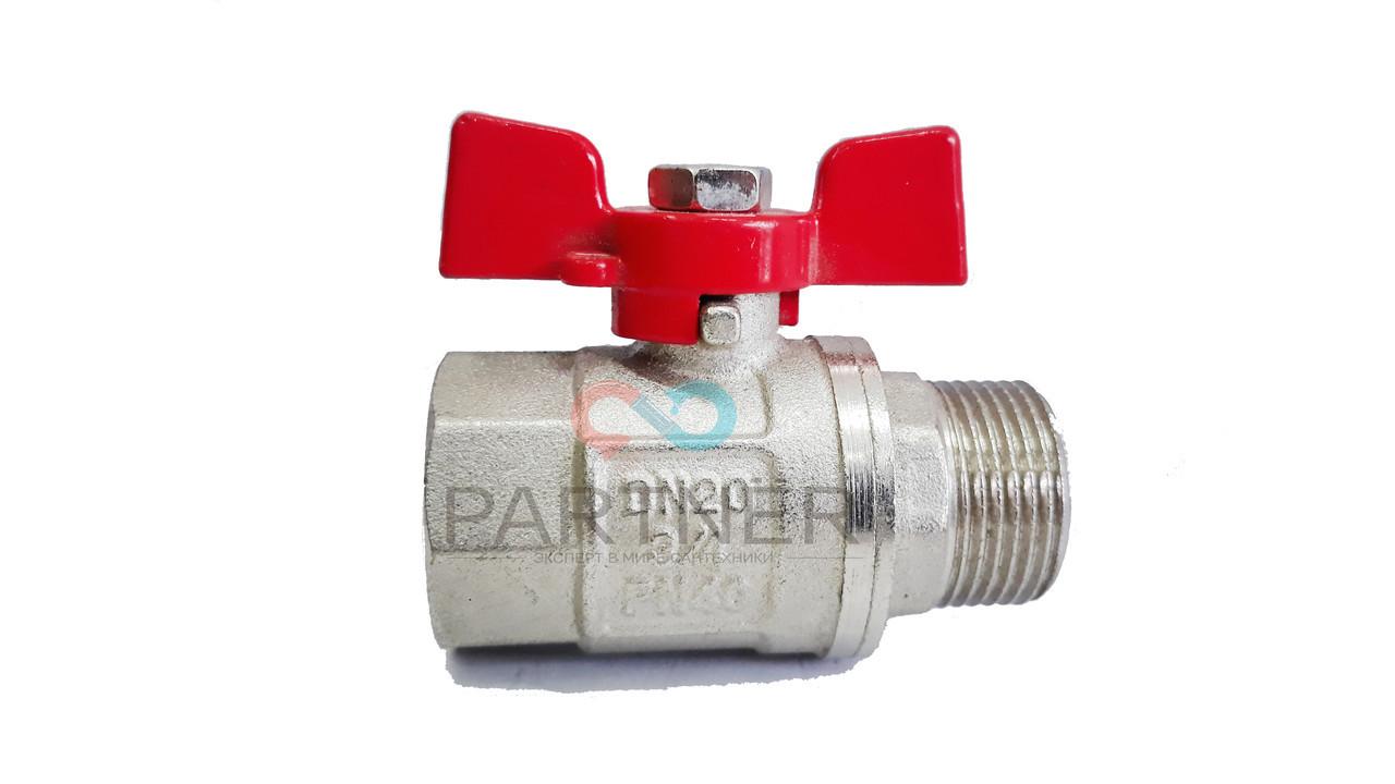 Кран шаровый 3/4'' нв кб ANGO (Pn 40) для воды