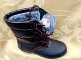 Берцы зимние с стальным носком и литой подошвой, фото 2
