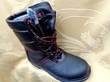 Берцы зимние с стальным носком и литой подошвой, фото 3