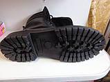 """Берцы  """" СКОРПИОН -2"""" чёрные на шерсти размеры 36-46, фото 4"""
