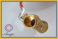 Кран с фильтром для водомера 1''вв Valve J.G. 510, фото 3