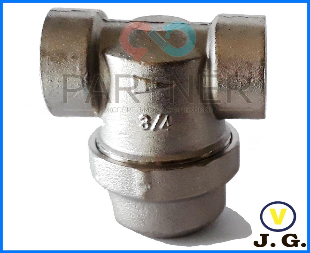 Фильтр с отстойником 3/4вв CV4007