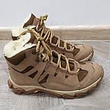 """Ботинки  """"УКР-ТЕК"""" БЕЖ зимние, 36-46 размеры, фото 4"""