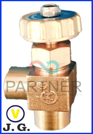 Кран 1/4 игольчатый угловой тонкой регулировки