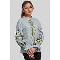 Женская вышиванка блуза Gray 2