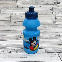 Пластиковая бутылочка Mickey Mouse, объём 350 мл