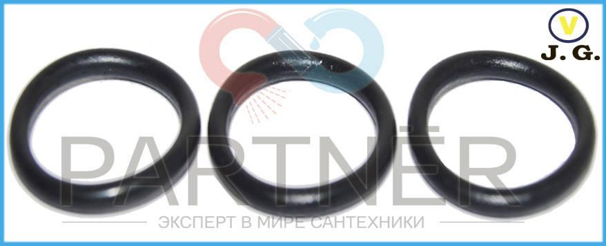 Прокладка резина на импортный гусак (кольцо) (18х12,4х2.8) (100шт), фото 2
