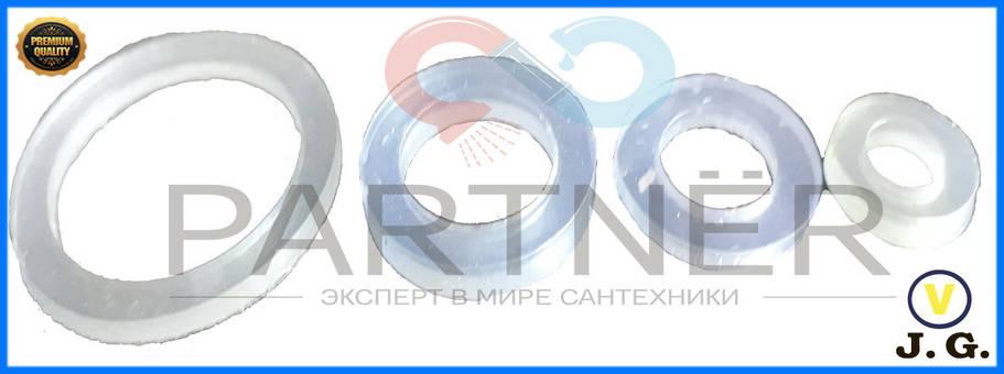 Прокладка силиконовая 3/4  (ПВХ,100шт), фото 2