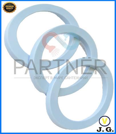 Прокладка сифона  плоская под 40-вую гофру ПВХ, фото 2