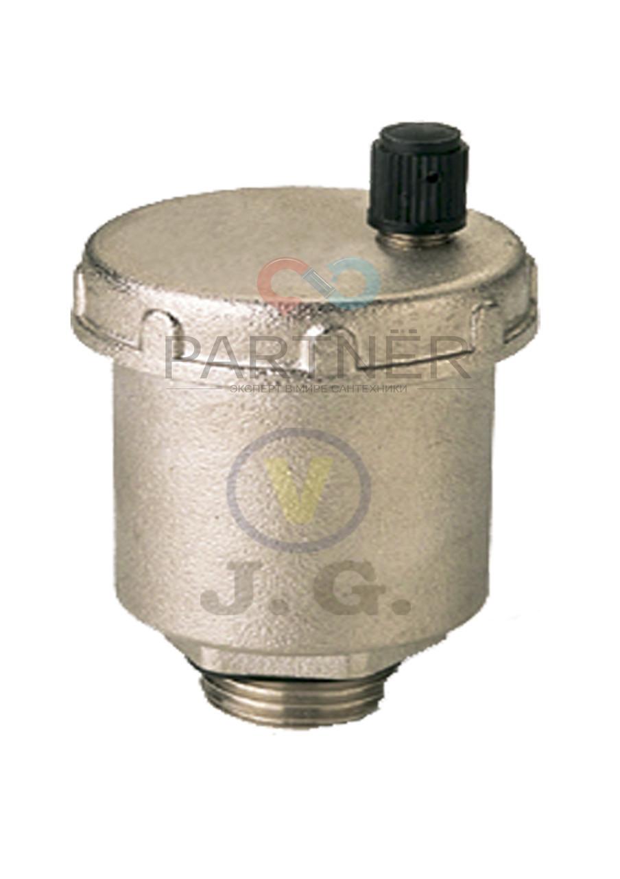 Воздухоотводчик 1/2'' J.G. 9005 лат.хром