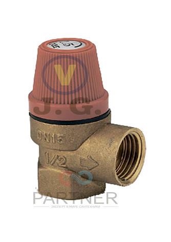 Клапан предохранительный 2,5 bar J.G., фото 2