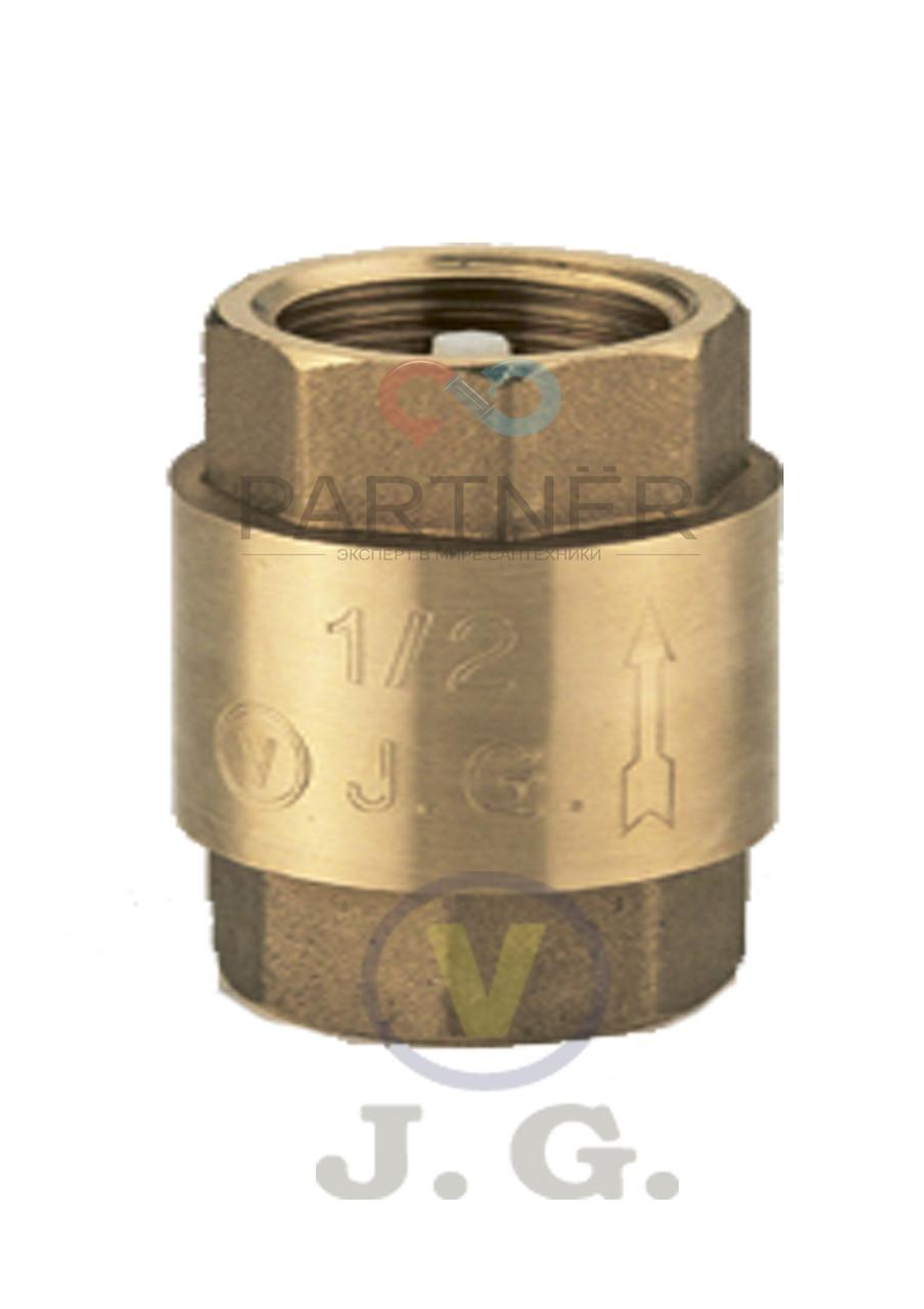 Зворотний клапан 1/2 J. G.(АВ) пластиковий шток