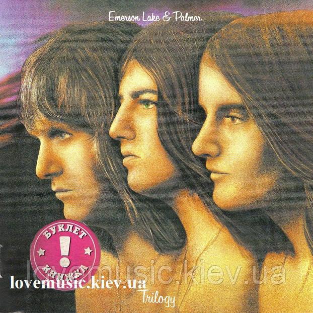 Музичний сд диск EMERSON, LAKE & PALMER Trilogy (1972) (audio cd)