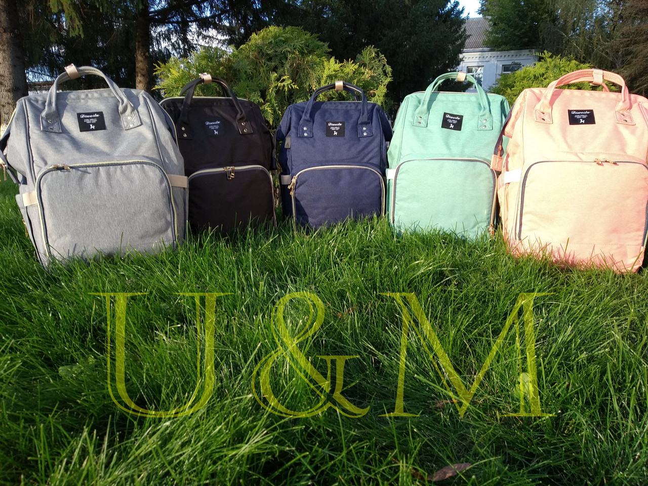 03f034c0f2ac Сумка рюкзак для мам с USB, рюкзак для мам, Рюкзак-органайзер для мам