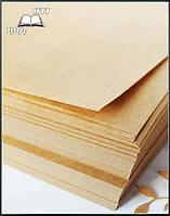 Упаковочная крафт бумага А3 плотность 35 г/м2 (500 листов в упаковке), фото 1