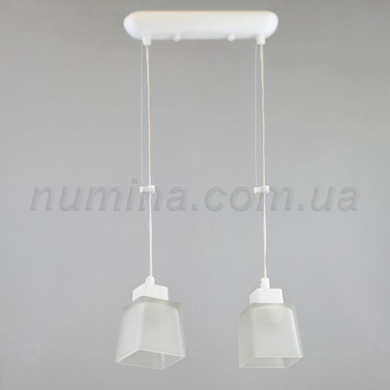 Люстра подвесная на две лампы 1-70035/2P WT