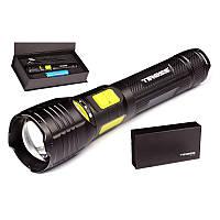 Фонарь ручной Tiross TS-1158 диод CREE XM-L2-U2 LED 10w + power bank