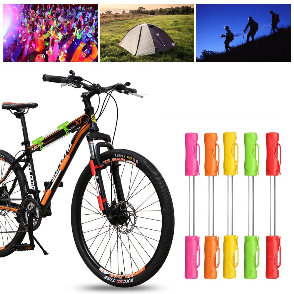 BIKIGHTВелосипедВелосипедВелоспортмотоциклСвет LED Предупредительный световой сигнал безопасности 3 Батарея Кемпинг Ночь Лампа - 1TopShop