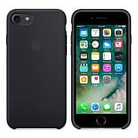 Цвет:BLACK! Силиконовый чехол для iPhone 6/7/Plus/8/X/XS айфон БЕЗ ШВА оригинальное качество!!
