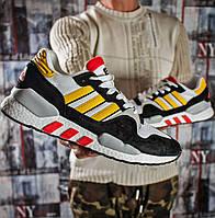 Мужские кроссовки в стиле Adidas ZX 930, текстиль, замша, пена, разные цвета