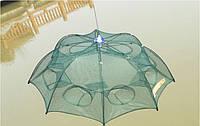 Ловушка для рака 6 секций, зонт