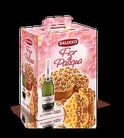 Пасхальный набор панеттон с шампанским Balocco Fior di Pasqua