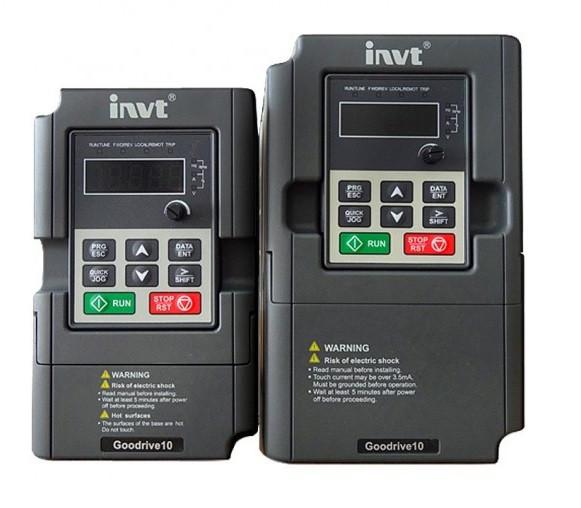 Преобразователи частоты INVT