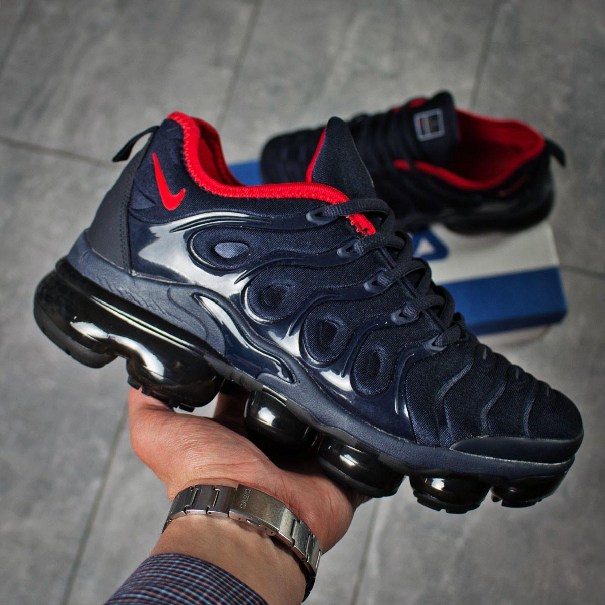 new york 12800 d3a62 Мужские кроссовки в стиле Nike Tn Air, текстиль, пена, синие 41 (26,5 см) -  Bigl.ua