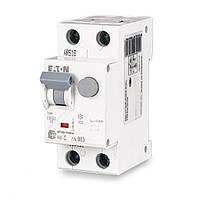 Дифференциальный автомат HNB-C13/1N/003, 2P, 13A, C, тип AC, 4,5kA, 30mA, xPole Home, (195126), Eaton
