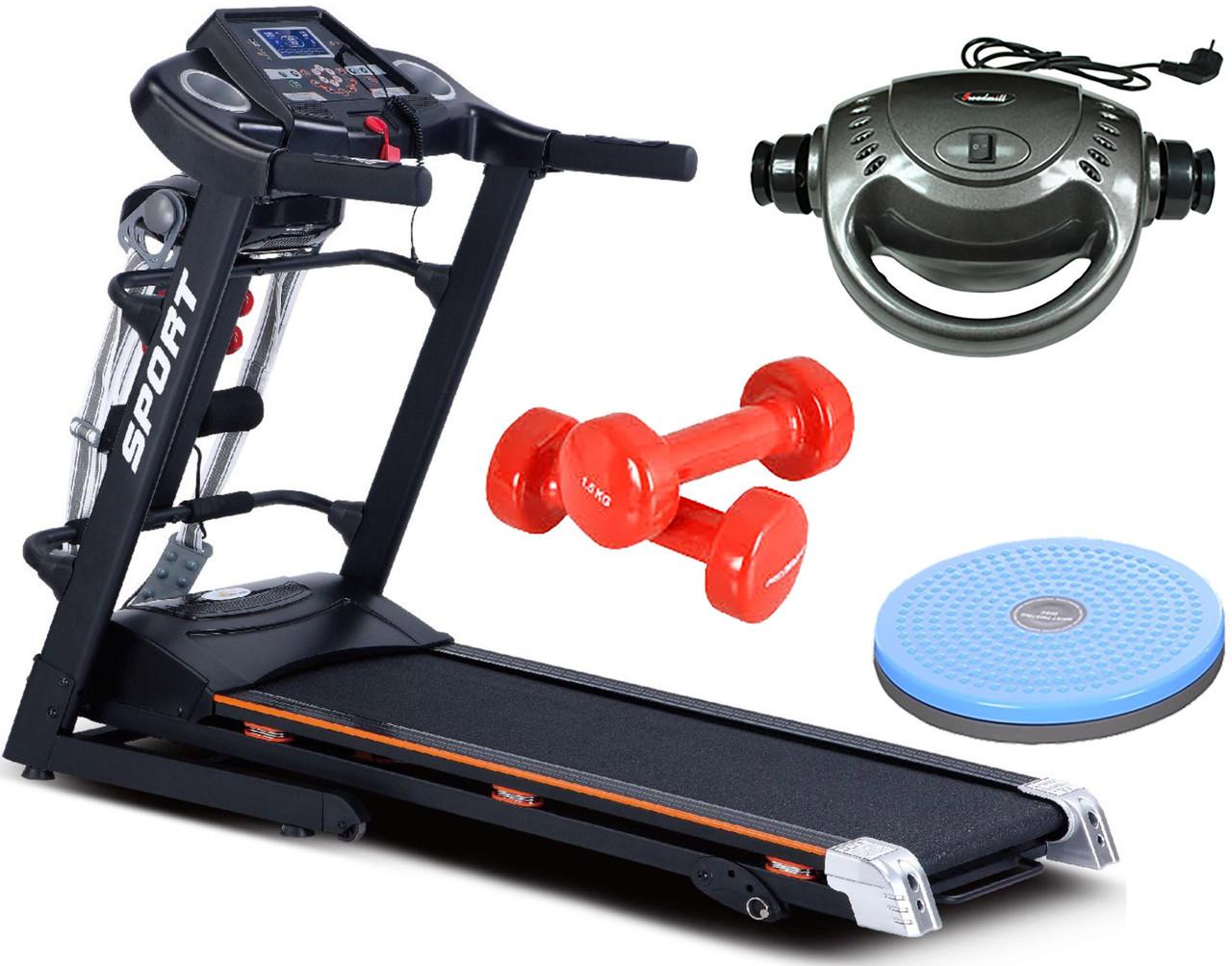 Беговая дорожка электрическая G-RUNNER 420 Massager/HRS T-280 Massager+Подарки