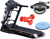Беговая дорожка электрическая G-RUNNER 420 Massager/HRS T-280 Massager+Подарки, фото 1