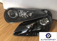 Фара левая + правая (комплект) ЧЕРНЫЕ (GTS/Turbo) 957 Porsche Cayenne 2007-2011 (957)