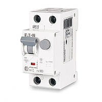 Диференціальний автомат HNB-C16/1N/003, 2P, 16A, C, тип AC, 4,5 ка, 30mA, xPole Home, (195127), Eaton