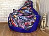 Кресло мешок, бескаркасное кресло Груша ХЛ, фото 9