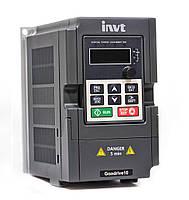 INVT Gooddrive10 (GD 10) - преобразователь частоты 0,75 кВт 380В, GD10-0R7G-4-B