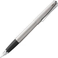 Ручка Чернильная Lamy Studio Матовый Хром F / Чернила T10 Синие (4014519277033), фото 1