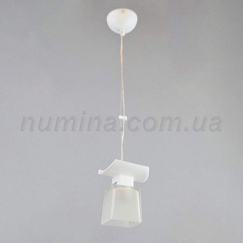 Люстра підвісна на одну лампу 1-70035B/1P WT