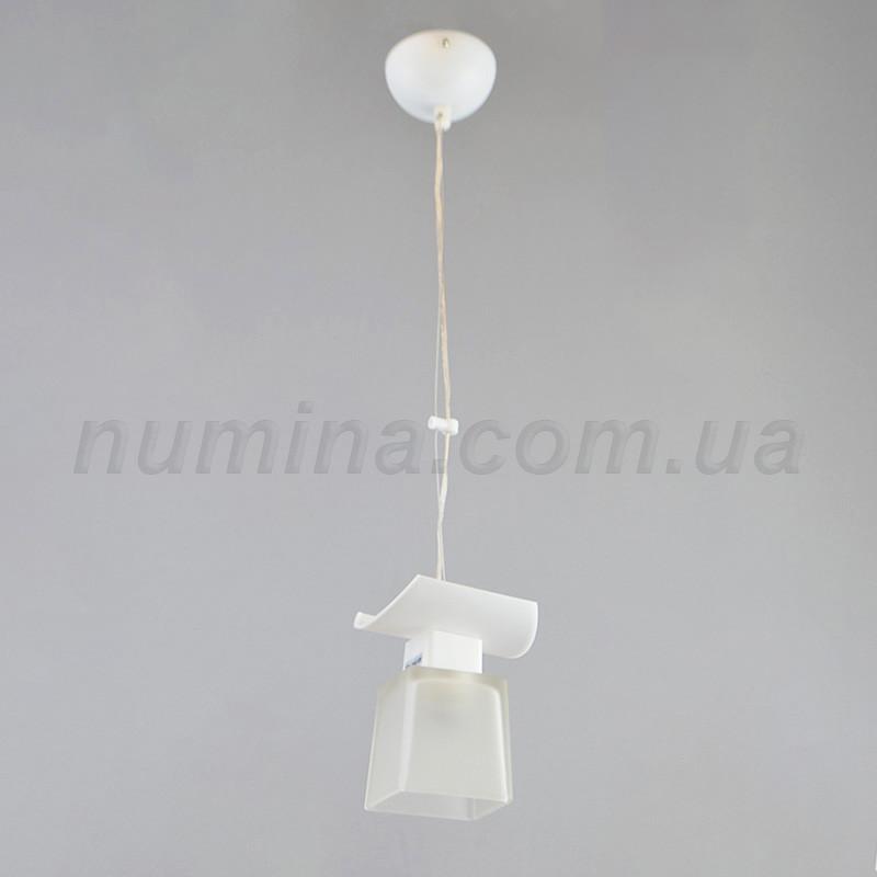 Люстра подвесная на одну лампу 1-70035B/1P WT