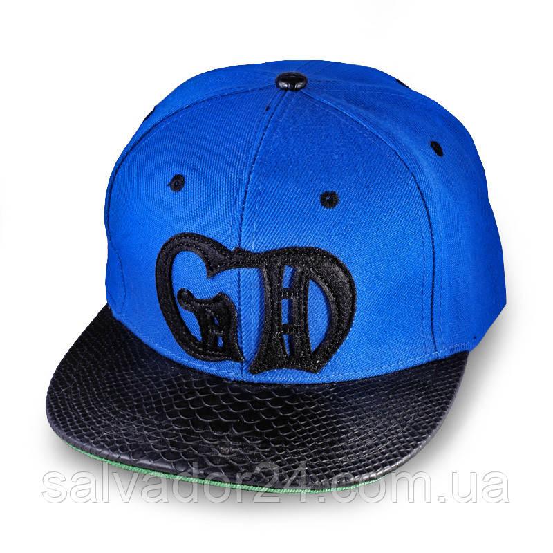 Бейсболка GD с прямым козырьком,  кепка блайзер