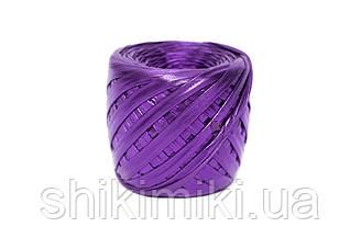 Трикотажная пряжа Maccaroni Metalliс, цвет Фиолетовый