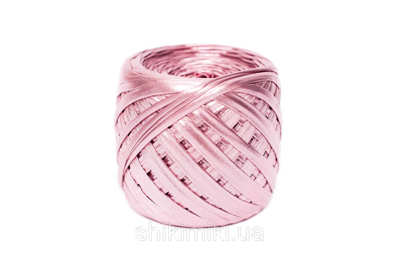 Трикотажная пряжа Maccaroni Metalliс, цвет Розовый