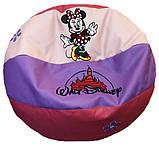 Кресло мяч бескаркасное мешок пуфик для ребенка, цены в описании, фото 3
