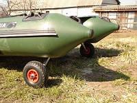 "Транцевые колеса BVS КТ450""Колея""- Пено, фото 1"