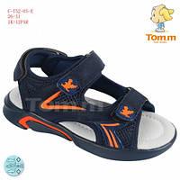 Босоножки TOM.M 26(р) Синий, оранжевый C-T52-05-E